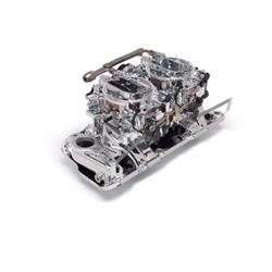 Edelbrock 20254 RPM Air-Gap Dual-Quad Intake Manifold/Carburetor Kit
