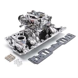 Edelbrock 20294 Performer RPM Intake Manifold/Carburetor Kit,5.0-5.7L
