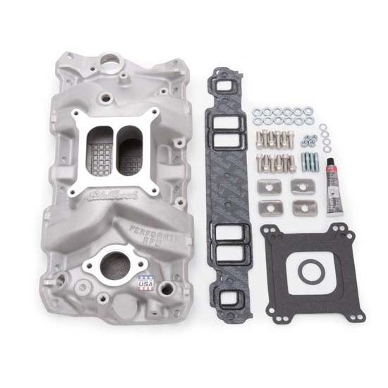 Edelbrock 2041 Intake Manifold Installation Kit, Small