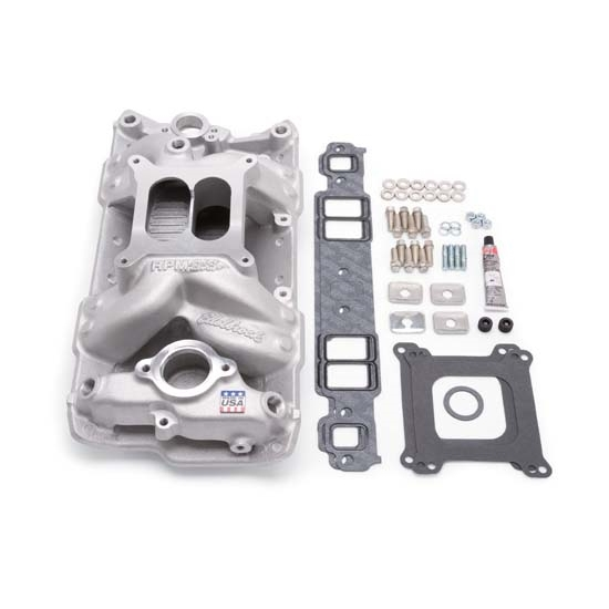 Edelbrock 2042 Intake Manifold Installation Kit, Small