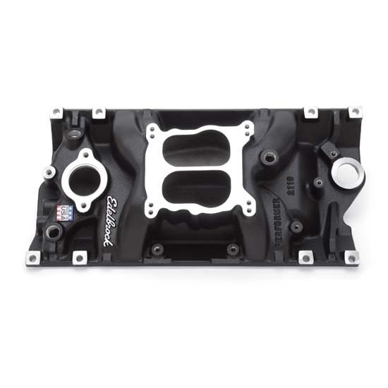Edelbrock 21163 Performer Vortec Intake Manifold, Black