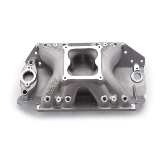 Edelbrock 28035 Big Victor HV Spread-Port Intake Manifold, BB Chevy