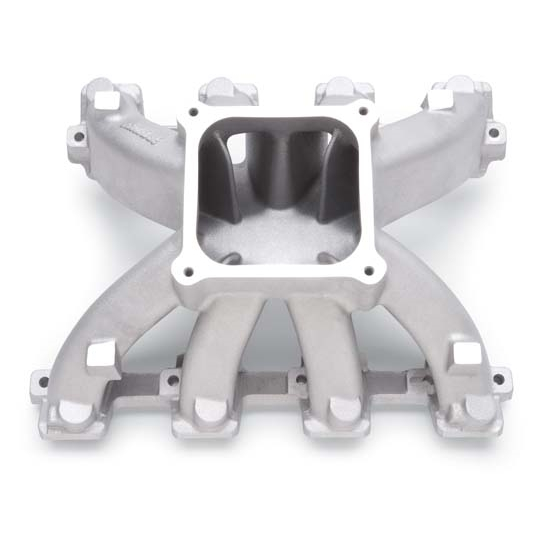 Edelbrock 2821 Super Victor LS3 Intake Manifold, Aluminum, Chevy