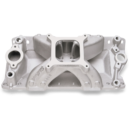 Edelbrock 28251 Super Victor CNC Intake Manifold, Small Block Chevy