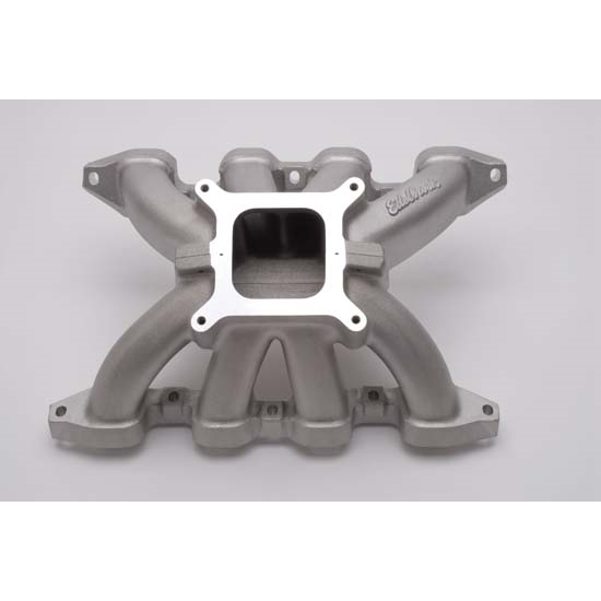 Edelbrock 28488 Victor ROX 2-Piece Intake Manifold, Small Block Chevy