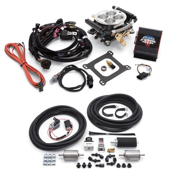 Edelbrock 36659 E-Street 2 EFI Systems w/RS Fuel Kit, No Tablet