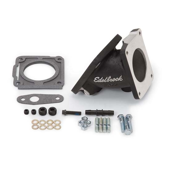 Edelbrock 38353 Throttle Body Adapter, For 3821/7126