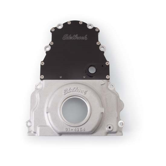 Edelbrock 4255 Aluminum Timing Cover, Chevy 6.0L LS2