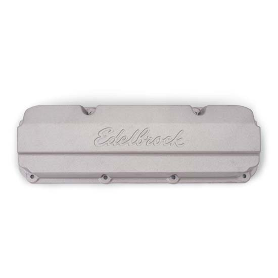 Edelbrock 4267 Racing Series Die-Cast Aluminum Valve Cover Set, Ford