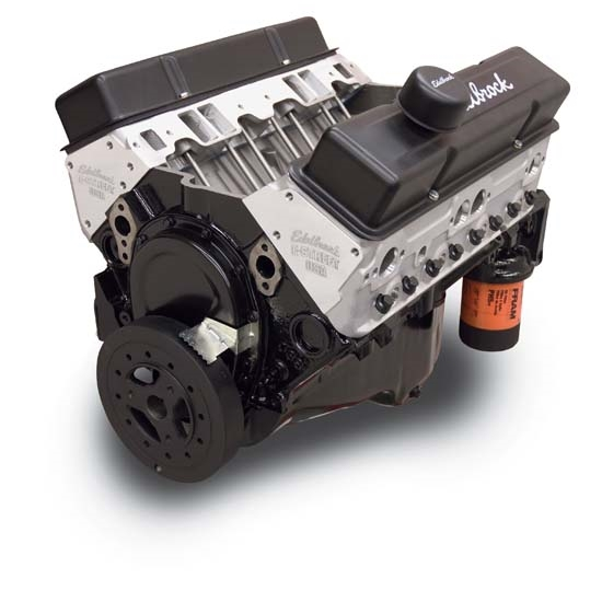 Edelbrock 45070 Crate E-Street Long Block 9.0:1 Performance Engine
