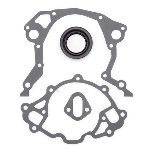 Edelbrock 6991 Replacement Timing Cover Gasket Set, Small Block Ford