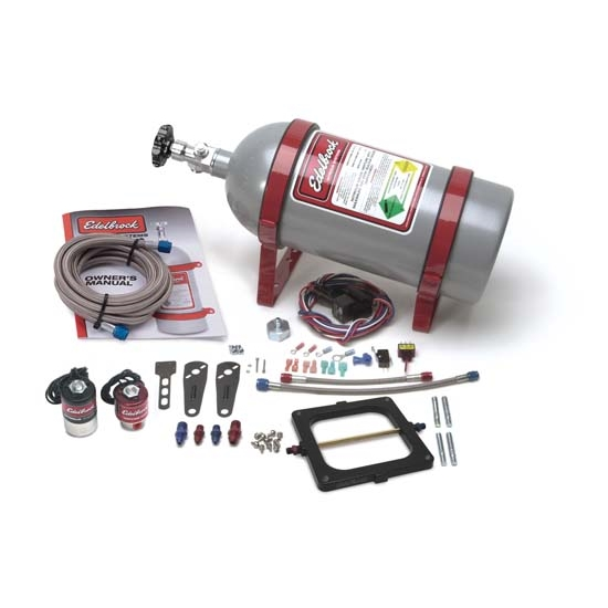 Edelbrock 70081 Performer RPM II Single-Stage Nitrous System, Kit