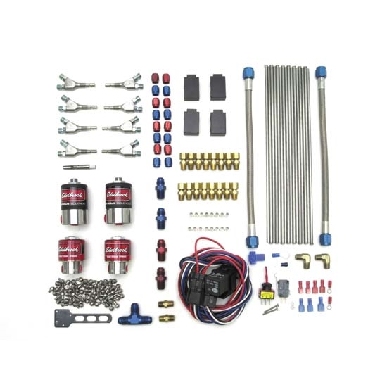 Edelbrock 71850 Super Victor Direct Port Nitrous Kit, 200-500 hp