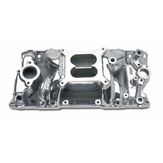 Edelbrock 75011 RPM Air Gap Intake Manifold, Small Block Chevy