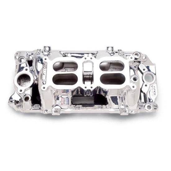 Edelbrock 75204 RPM Air Gap Dual-Quad Intake Manifold, BB