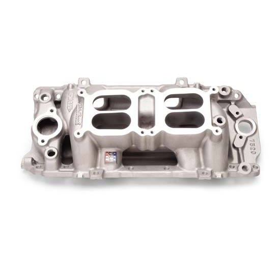 Edelbrock 7520 RPM Air Gap Dual-Quad Intake Manifold, Big Block Chevy