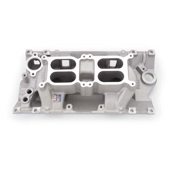 Edelbrock 7526 Performer RPM Dual-Quad Air Gap Intake