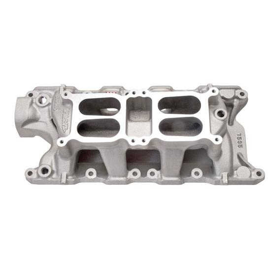 Edelbrock 7535 289-302 Small Block Ford Dual Quad Intake Manifold