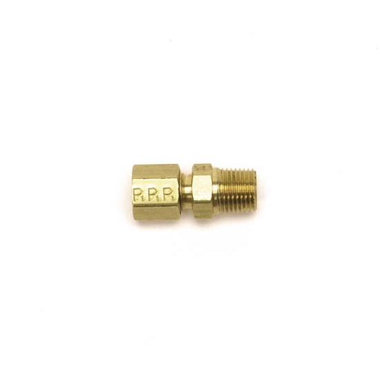 Edelbrock 76560 Compression Hose Fitting, Brass