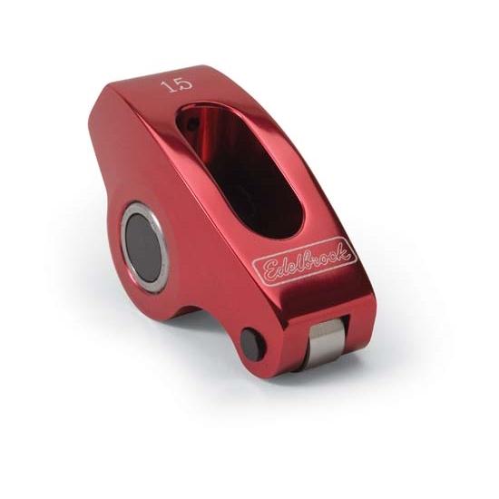 Edelbrock 77771 Red Roller Rocker Arm, Small Block Chevy