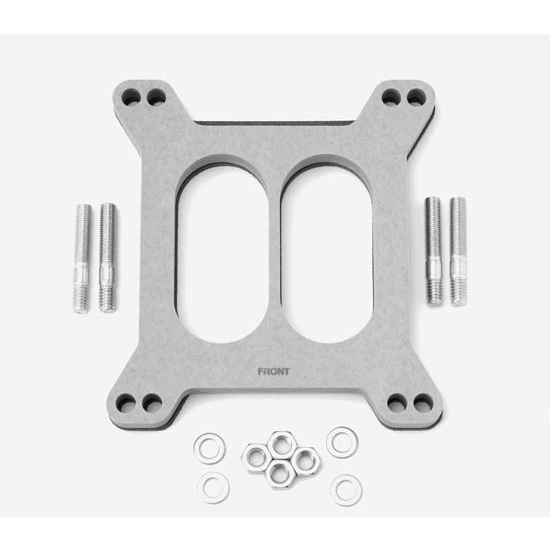Edelbrock 8722 4- Barrel Carburetor Spacer, Wood Fiber Laminate,0.5in.