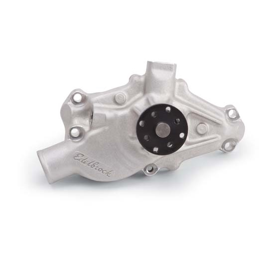 Edelbrock 8812 Victor Series Water Pump, 1971-82 S/B Corvette, Short