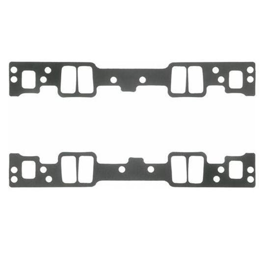 Fel-Pro 1255 Small Block Chevy Intake Manifold Gaskets, 1.125x2.135 In