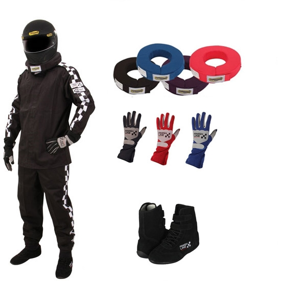 Finishline Qualifier Single-Layer Two-Piece Racing Suit Combos