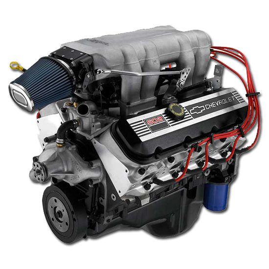 Chevrolet performance 12499121 ram jet 502 big block crate 502 motoring