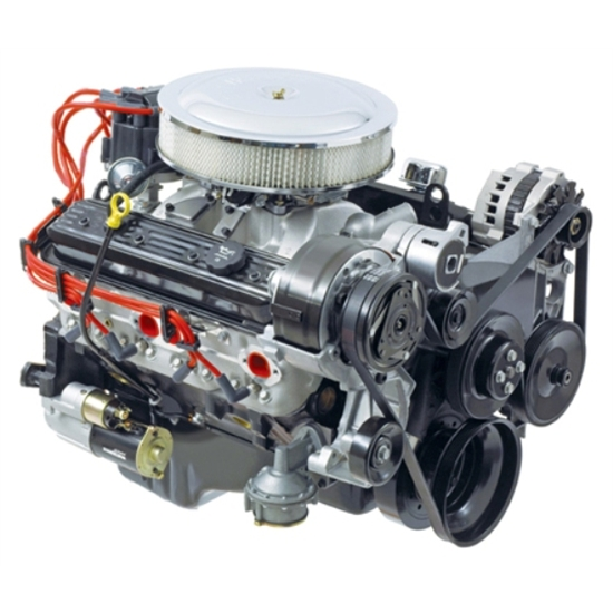 Chevy 350 Engine With Transmission For Sale: GM Performance 19201330 Small Block Chevy ZZ4 350 Turn-Key