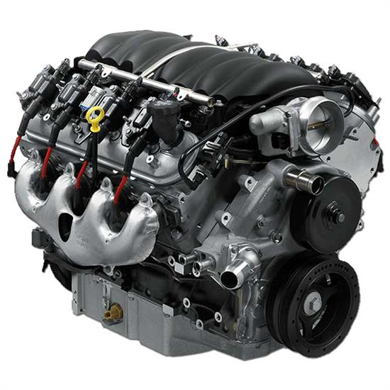 Chevrolet crate engines crate transmissions performance for Rebuilt motors and transmissions