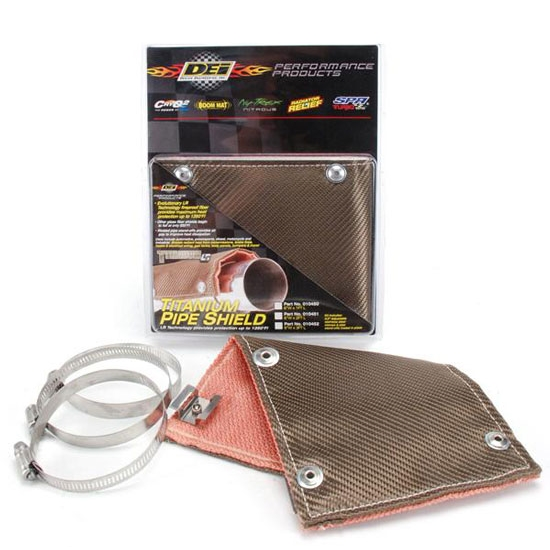 DEi 010451 Titanium Exhaust Pipe Heat Shield, 6 Inch x 2 Ft.