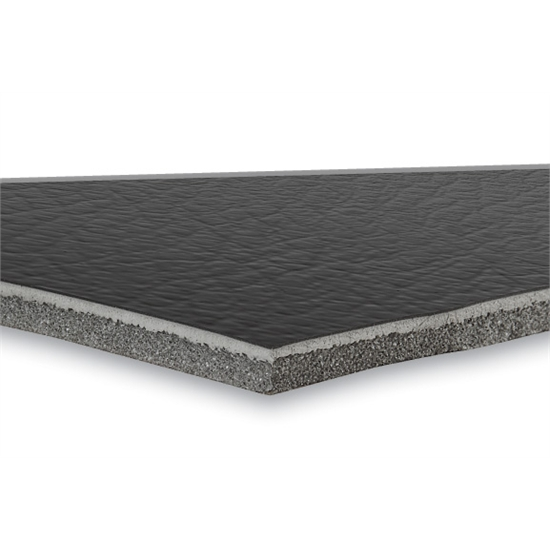Dei 050120 boom mat leather look sound barrier 24 x 48 inch for Best sound barrier insulation