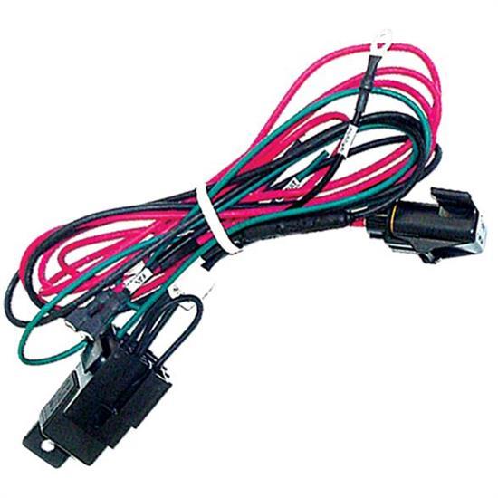 air conditioner wire harness maradyne fans mfa101 air conditioner wire harness w/relay ford f 350 air conditioner wire diagrams