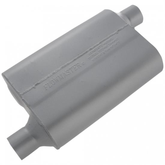 Flowmaster Mufflers 42443 40 Series 2.25 In. Muffler, Offset In/Outlet