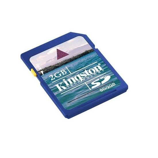SD Memory Card for GoPro Video Camera, 2 GB