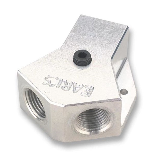Earls 100184ERL Fuel Distribution Block Style B Inlet, 0.5 In. NPT