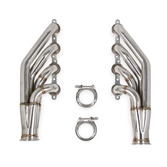 Flowtech 11537FLT LS Turbo Headers, Natural Finish, GM 4.8/5.3/6.0L V8