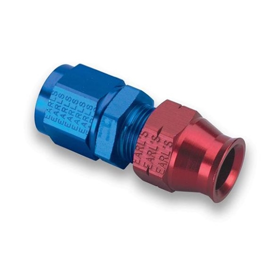 Earls 165108ERL -8 AN Female to 1/2 Inch Tubing Adapter
