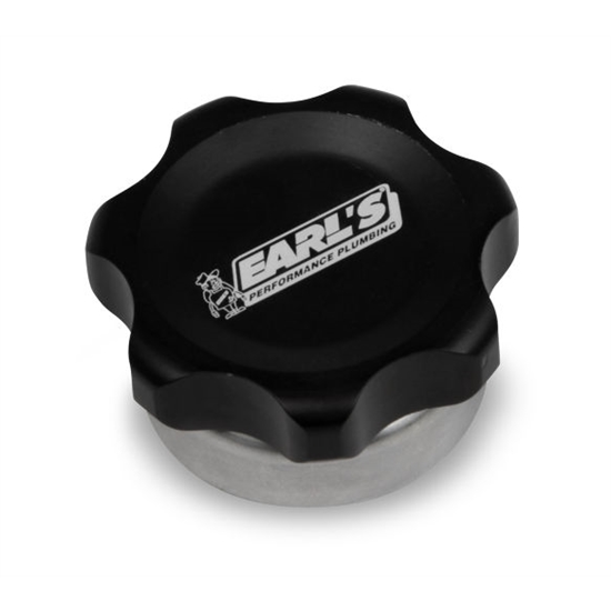 Earls 166019ERL Billet Fill Cap, Steel Weld Bung