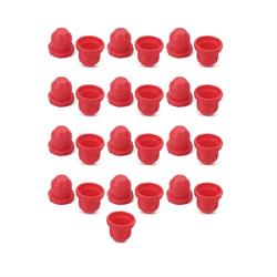 Earls 179204ERL Plastic Plugs, Size -4, Set of 25
