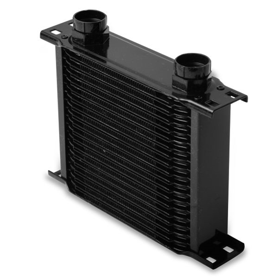 Earls 21900AERL 19 Row Oil Cooler Core, Black