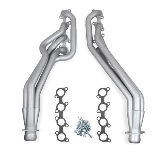 Flowtech 32139FLT Long Tube Headers, Ceramic Finish, 2011-14 Mustang