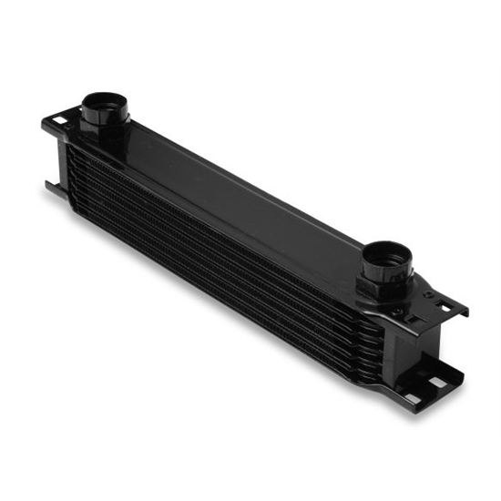 Earls 40700AERL 7 Row Oil Cooler Core, Black