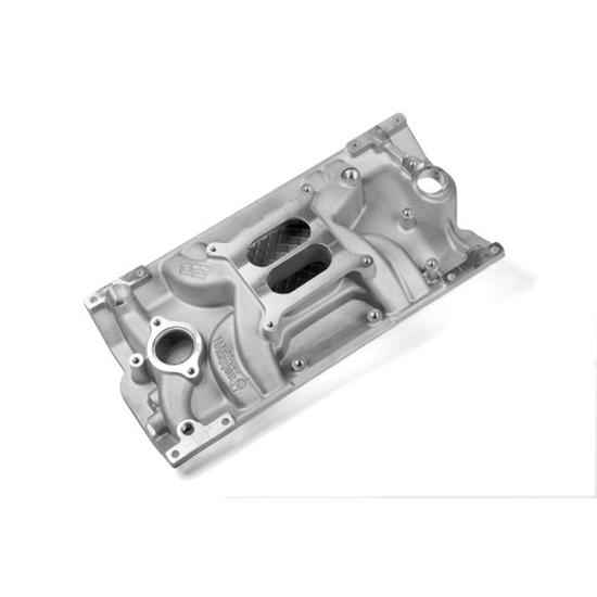 Weiand 8121 Street Warrior Intake Manifold Non/EGR 262ci-400ci