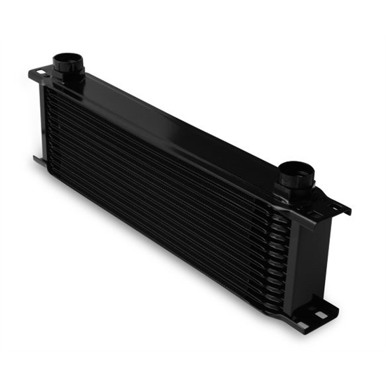 Earls 81300AERL Black -10 AN 13 Row Oil Cooler, Extra Wide