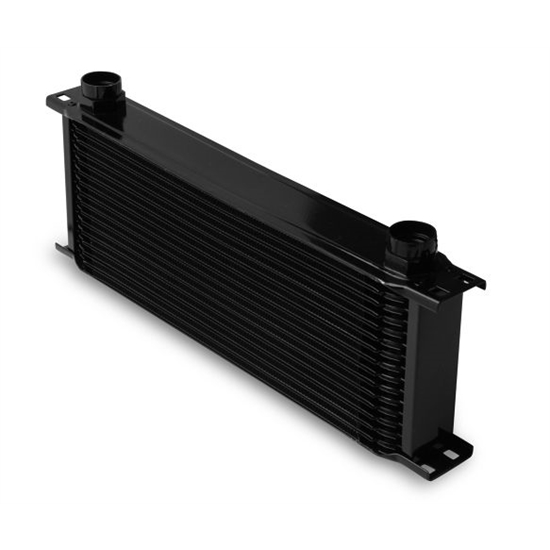 Earls 81600AERL Black -10 AN 16 Row Oil Cooler, Extra Wide