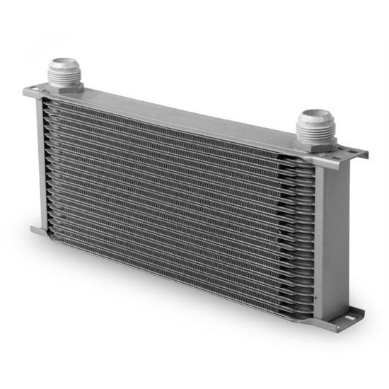 Earls 81900ERL Gray -10 AN 19 Row Oil Cooler, Extra Wide