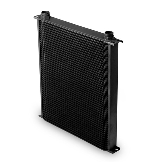 Earls 82500AERL Black -10 AN 25 Row Oil Cooler, Extra Wide