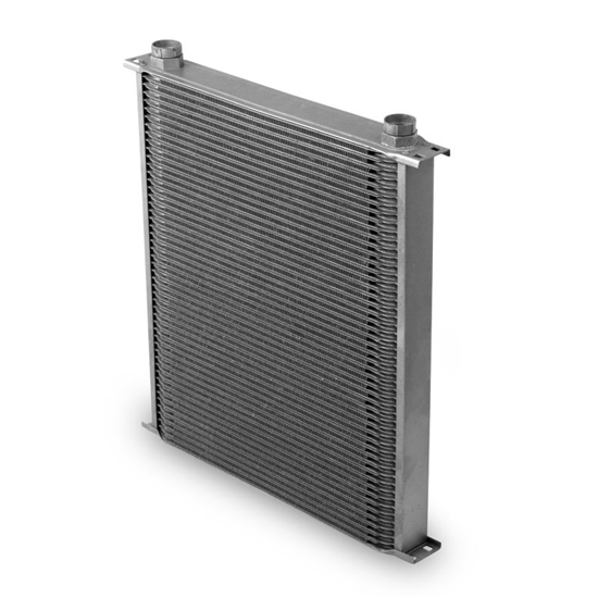 Earls 82500ERL Gray -10 AN 25 Row Oil Cooler, Extra Wide